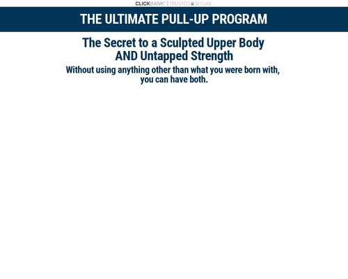 Final Pullup Program | Fixing Issues for Learners and Excellling Elites